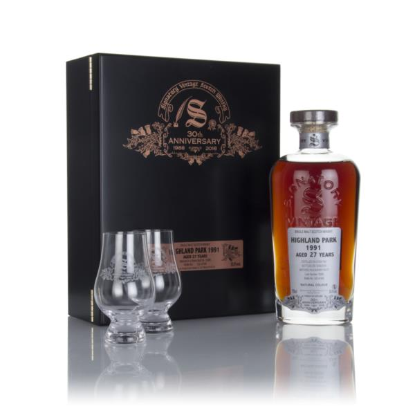 Highland Park 27 Year Old 1991 (cask 15086) - 30th Anniversary Gift Bo Single Malt Whisky