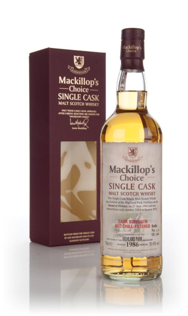 Highland Park 28 Year Old 1986 (cask 2264) - Mackillops Choice 3cl Sa Single Malt Whisky 3cl Sample