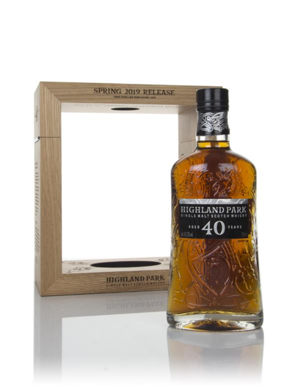 Highland Park 40 Year Old - Spring 2019 Release Single Malt Whisky