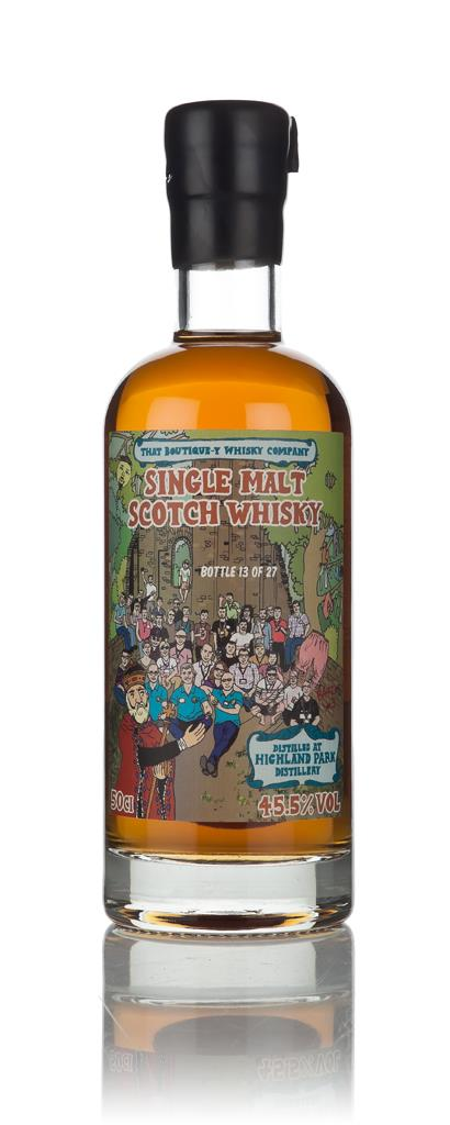 Highland Park - Batch 3 (That Boutique-y Whisky Company) 3cl Sample Single Malt Whisky