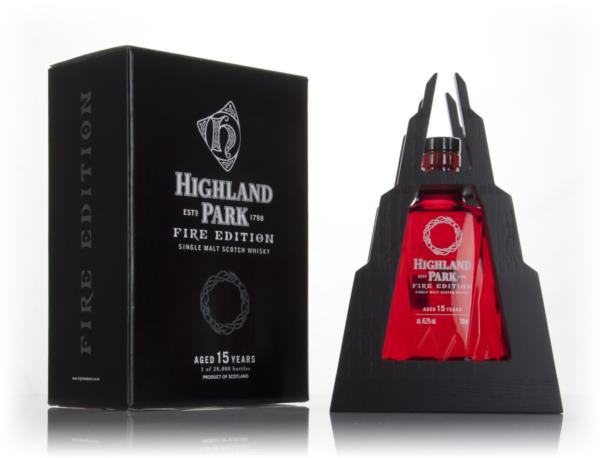 Highland Park Fire Edition 15 Year Old Single Malt Whisky