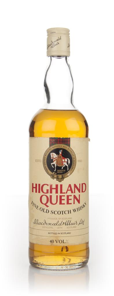 Highland Queen - 1970s Blended Whisky