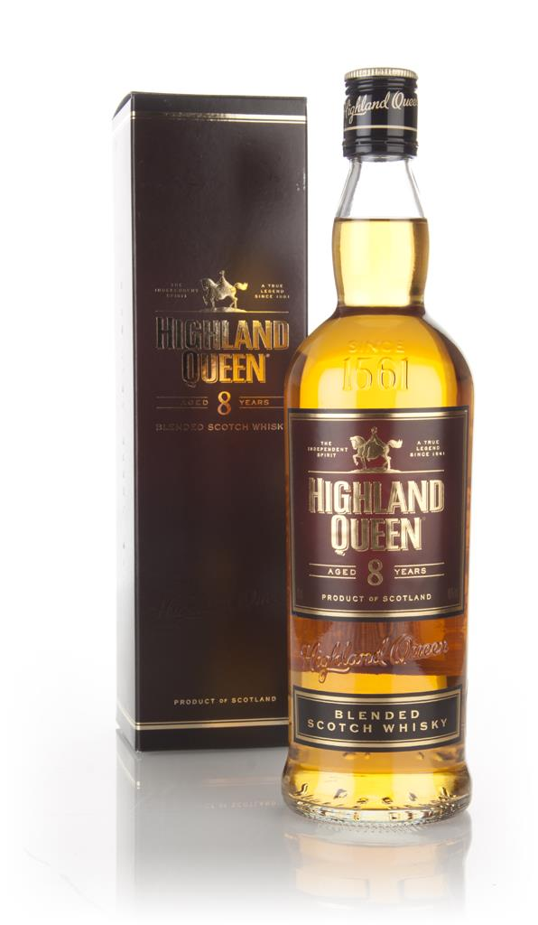 Highland Queen 8 Year Old Blended Whisky