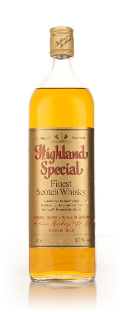 Highland Special Finest Scotch Whisky - 1970s Blended Whisky