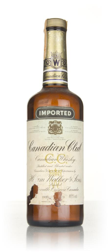 Canadian Club Whisky - 1970s Blended Whiskey