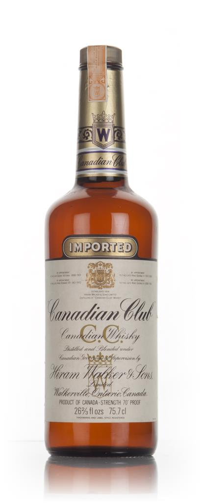 Canadian Club 6 Year Old Whisky - 1970s Blended Whiskey