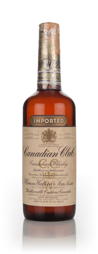 Canadian Club Whisky - 1967 Blended Whiskey