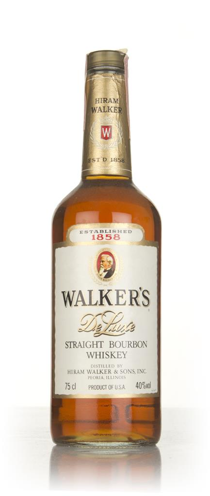 Hiram Walker 8 Year Old De Luxe - 1980s Bourbon Whiskey