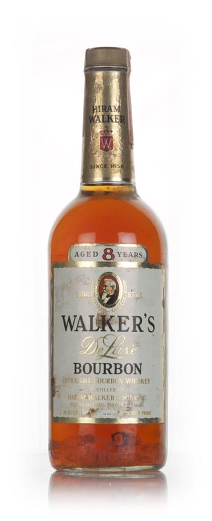 Hiram Walkers 8 Year Old Bourbon - 1970s Bourbon Whiskey