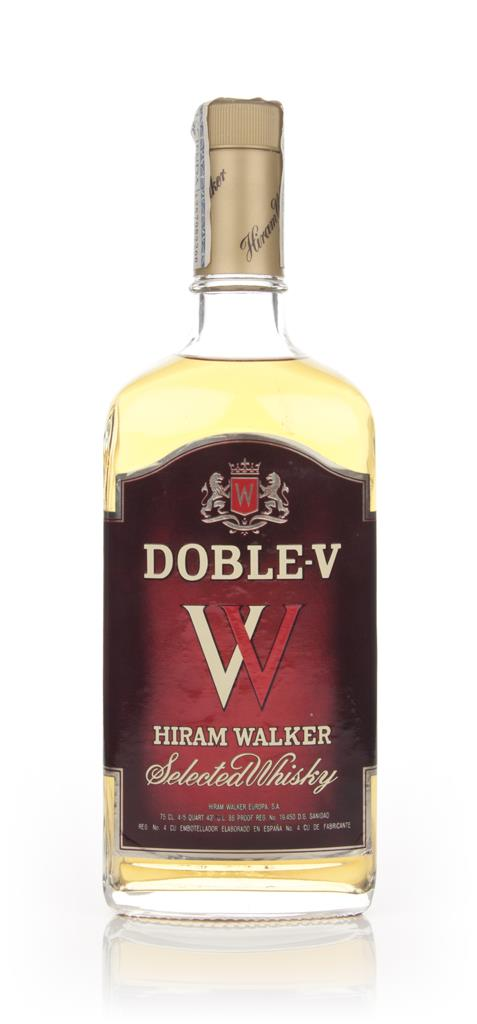 Hiram Walkers Doble-V Whisky - 1980s Blended Whiskey