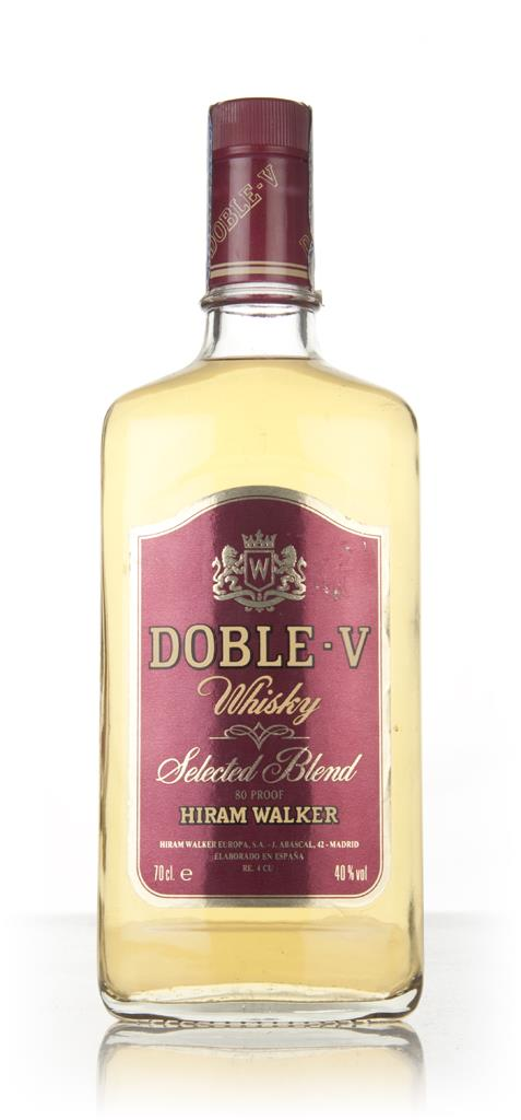Hiram Walkers Doble-V Whisky (40%) - 1980s Blended Whiskey