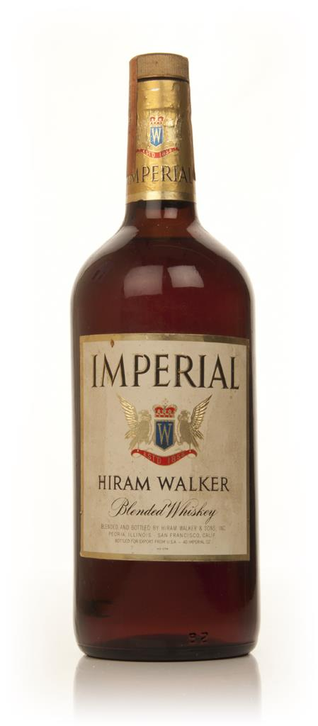 Hiram Walker Imperial Blended Whiskey - 1970s Blended Whiskey