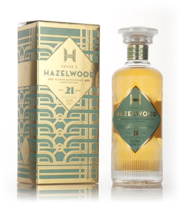House of Hazelwood 21 Year Old Blended Whisky