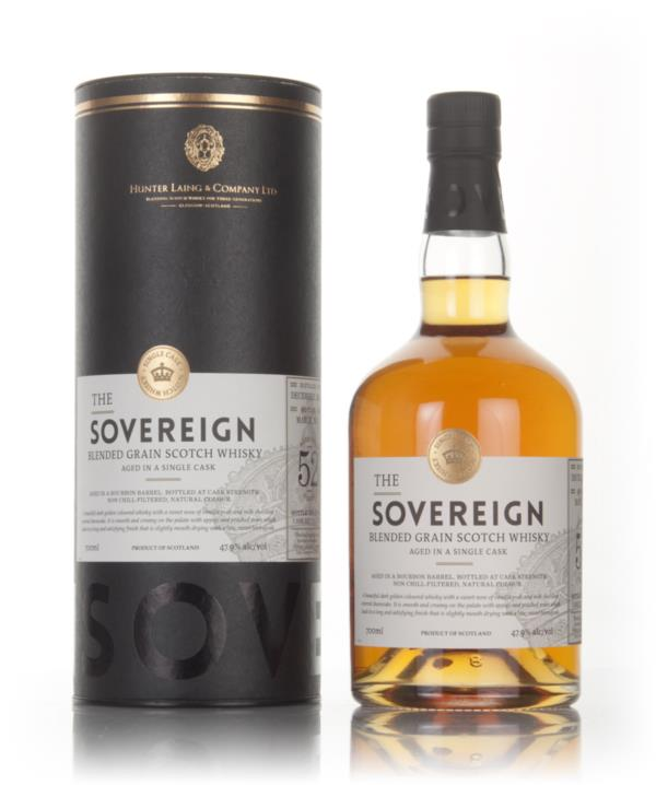 Blended Grain 52 Year Old 1964 (cask 13327) - The Sovereign (Hunter La Grain Whisky 3cl Sample