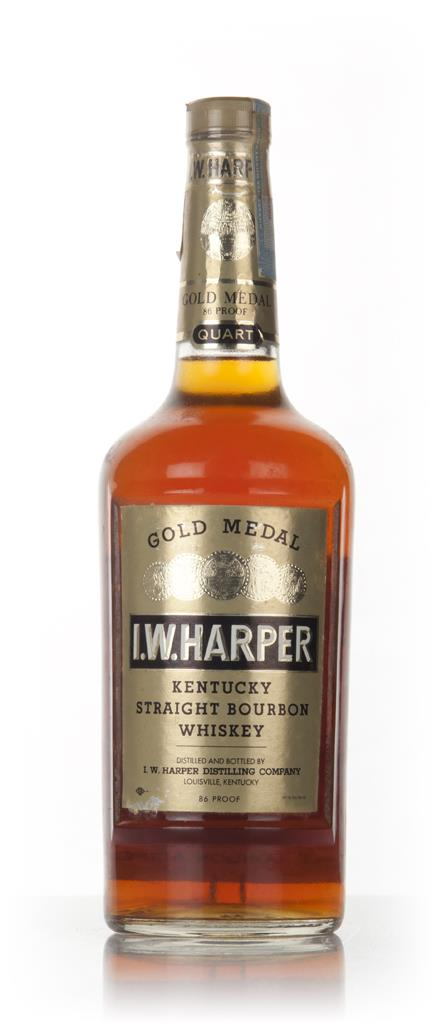 I.W. Harper 4 Year Old Gold Medal Kentucky Straight Bourbon - 1971 3cl Bourbon Whiskey 3cl Sample