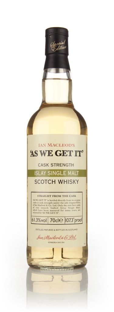Islay Single Malt - As We Get It (Ian Macleod) (61.3%) Single Malt Whisky
