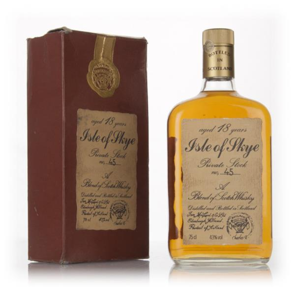 Isle of Skye 18 Year Old (Ian Macleod) - 1970s Blended Whisky