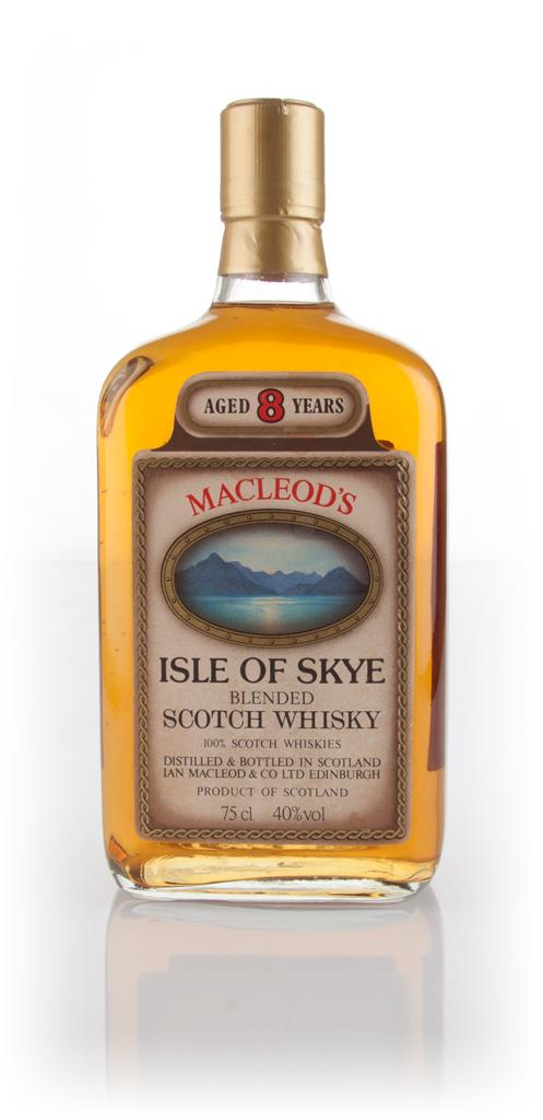 Macleods Isle of Skye 8 Year Old - 1980s Blended Whisky