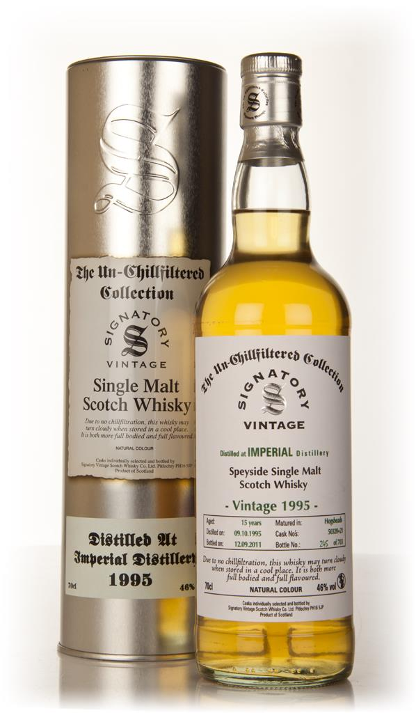 Imperial 15 Year Old 1995 Casks 50320 & 50321 - Un-Chillfiltered (Sign Single Malt Whisky