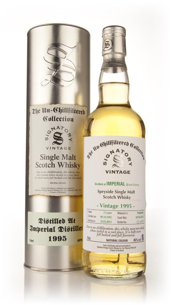 Imperial 15 Year Old 1995 - Un-Chillfiltered (Signatory) Single Malt Whisky