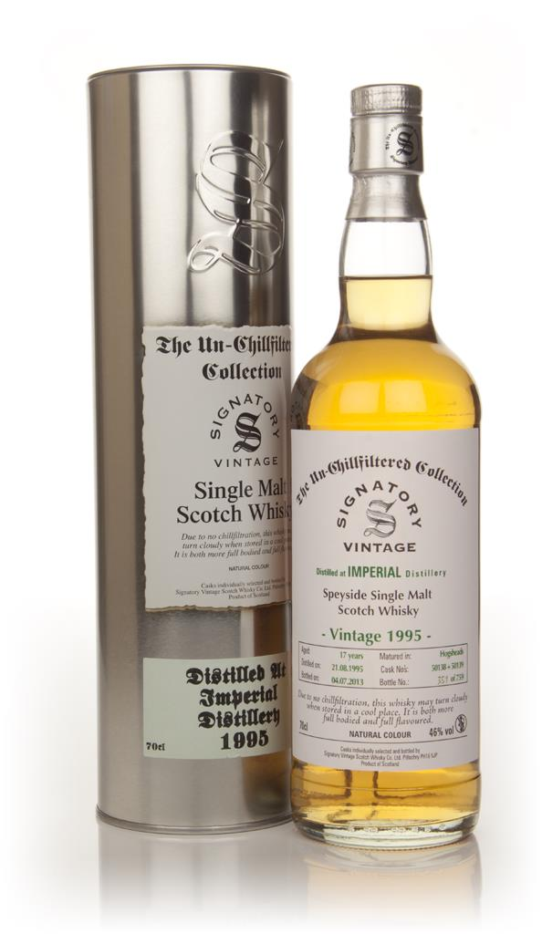 Imperial 17 Year Old 1995 (casks 50138+50139) - Un-Chillfiltered  (Sig Single Malt Whisky