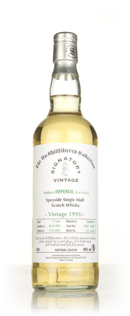 Imperial 17 Year Old 1995 - Un-Chillfiltered (Signatory) Single Malt Whisky