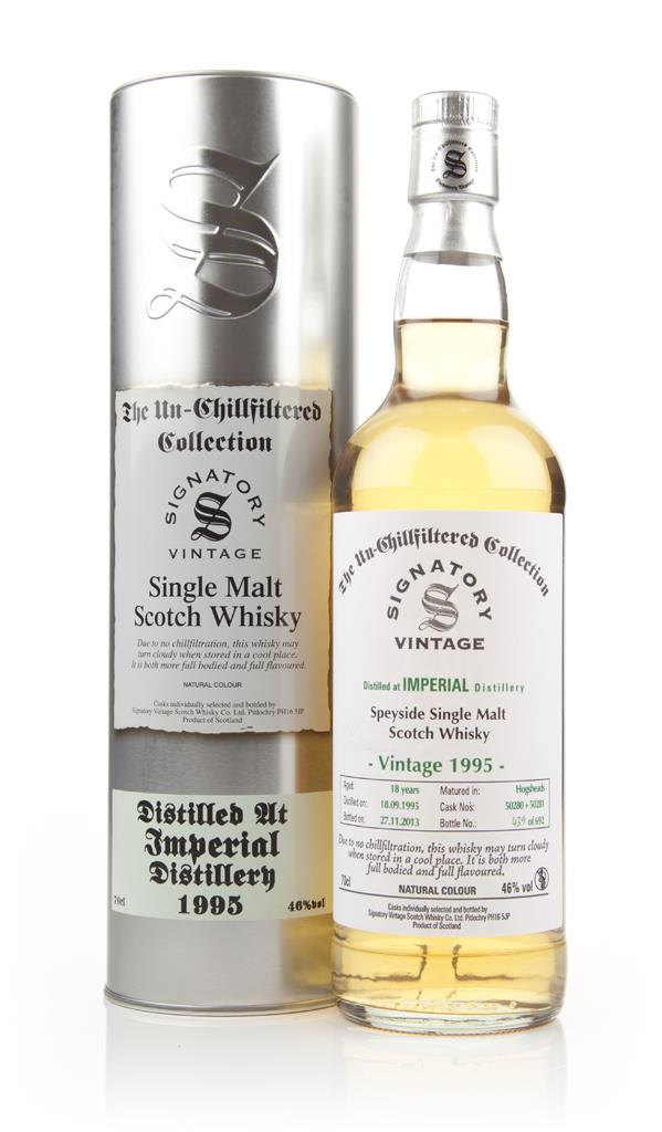 Imperial 18 Years Old 1995 (casks 50280+50281) - Un-Chillfiltered (Sig Single Malt Whisky