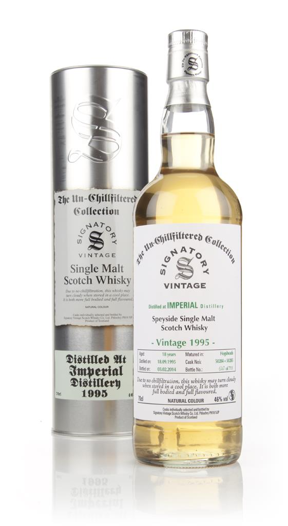 Imperial 18 Years Old 1995 (casks 50284+50285) - Un-Chillfiltered (Sig Single Malt Whisky
