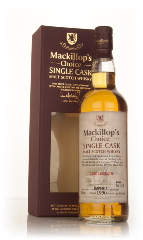 Imperial 22 Year Old 1990 (cask 11972) - Mackillop's Choice 3cl Sample Single Malt Whisky