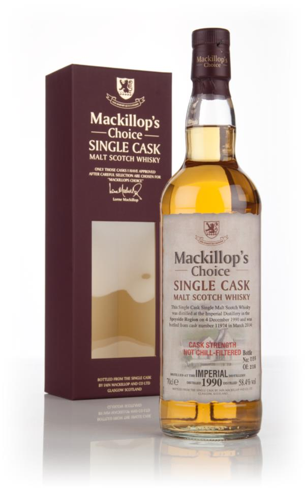 Imperial 23 Year Old 1990 (cask 11974) - Mackillop's Choice 3cl Sample Single Malt Whisky