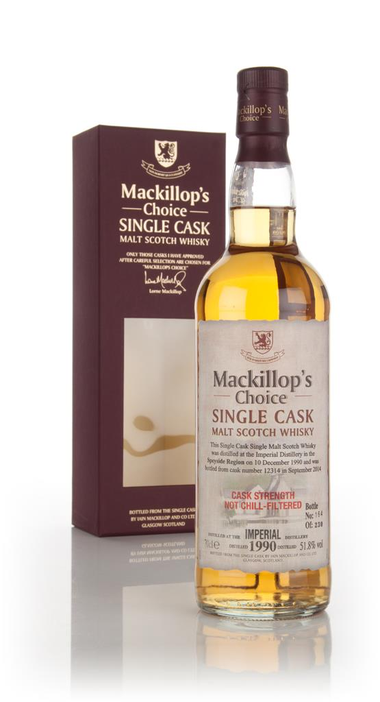 Imperial 23 Year Old 1990 (cask 12314) - Mackillops Choice 3cl Sample Single Malt Whisky