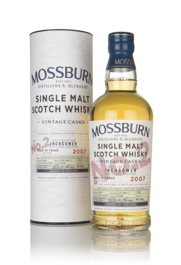Inchgower 10 Year Old 2007 - Vintage Casks (Mossburn) Single Malt Whisky