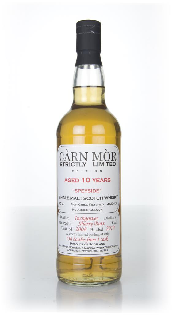Inchgower 10 Year Old 2008 - Strictly Limited (Carn Mor) Single Malt Whisky