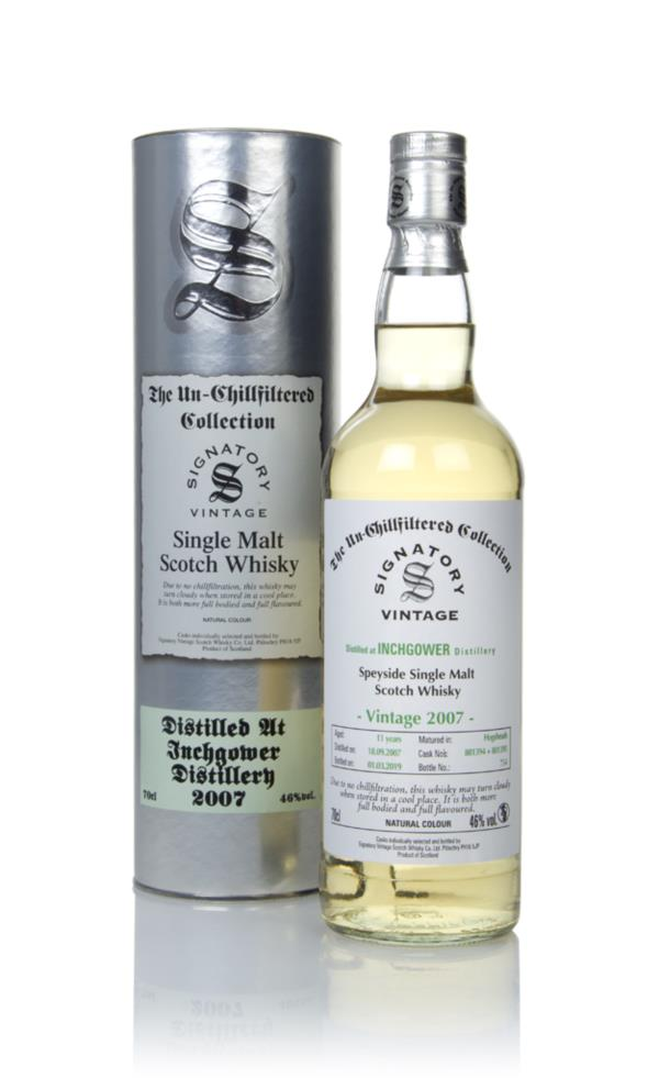 Inchgower 11 Year Old 2007 (casks 801394 & 801395) - Un-Chillfiltered Single Malt Whisky