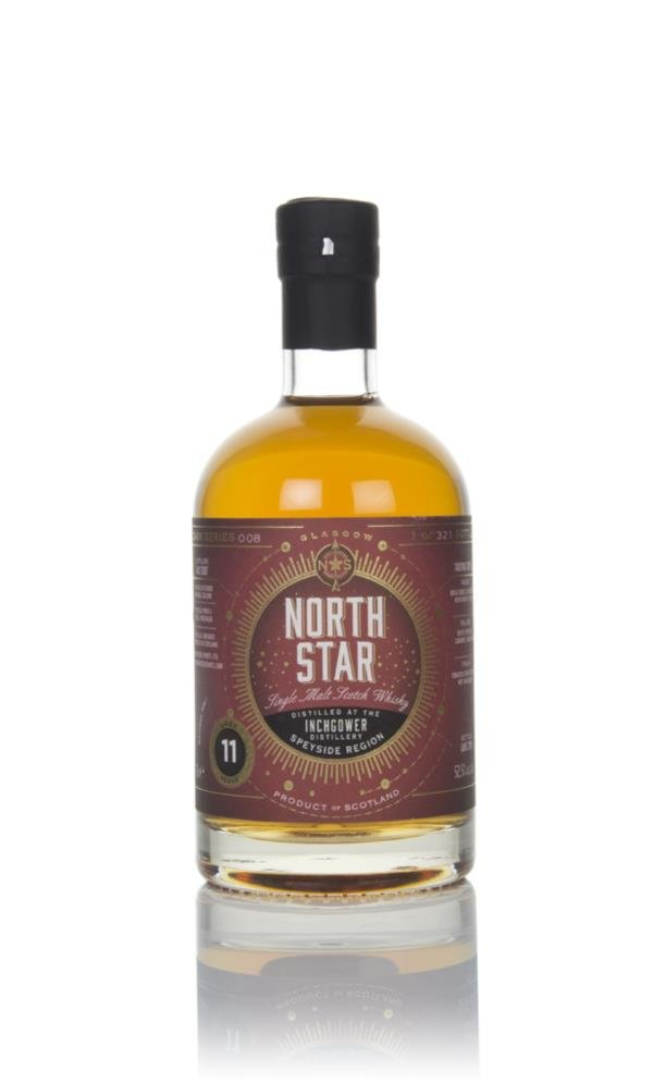 Inchgower 11 Year Old 2007 - North Star Spirits Single Malt Whisky