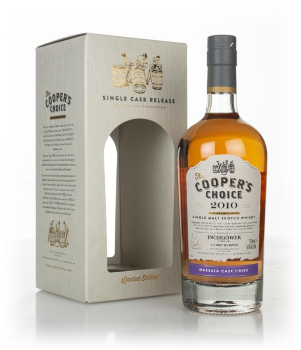 Inchgower 11 Year Old 2010 (cask 801364) - The Coopers Choice (The Vi Single Malt Whisky