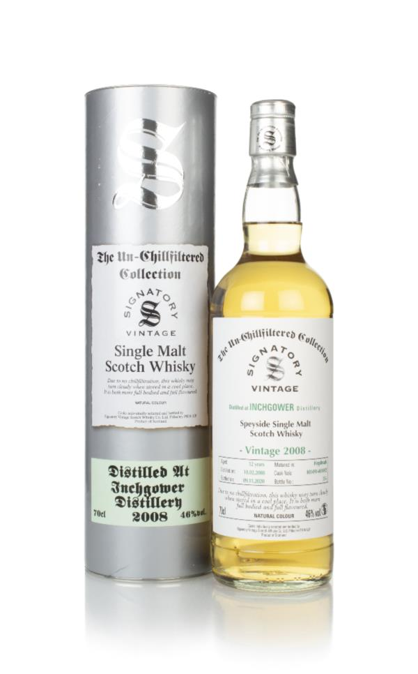 Inchgower 12 Year Old 2008 (casks 801491 & 801492) - Un-Chillfiltered Single Malt Whisky
