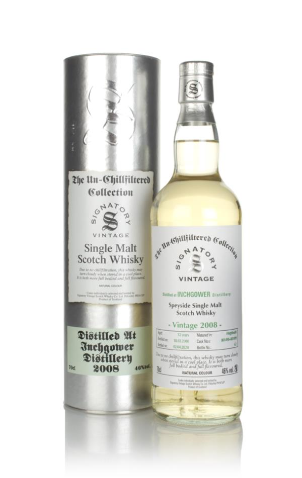 Inchgower 12 Year Old 2008 (casks 801498 & 801499) - Un-Chillfiltered Single Malt Whisky