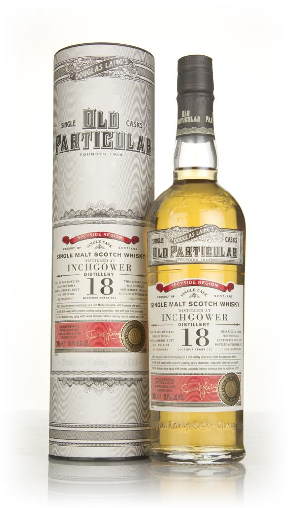 Inchgower 18 Year Old 1998 (cask 12102) - Old Particular (Douglas Lain Single Malt Whisky