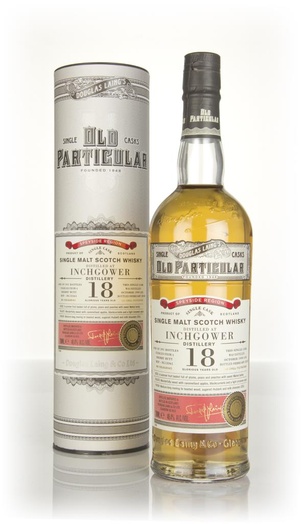 Inchgower 18 Year Old 1999 (cask 12361) - Old Particular (Douglas Lain Single Malt Whisky
