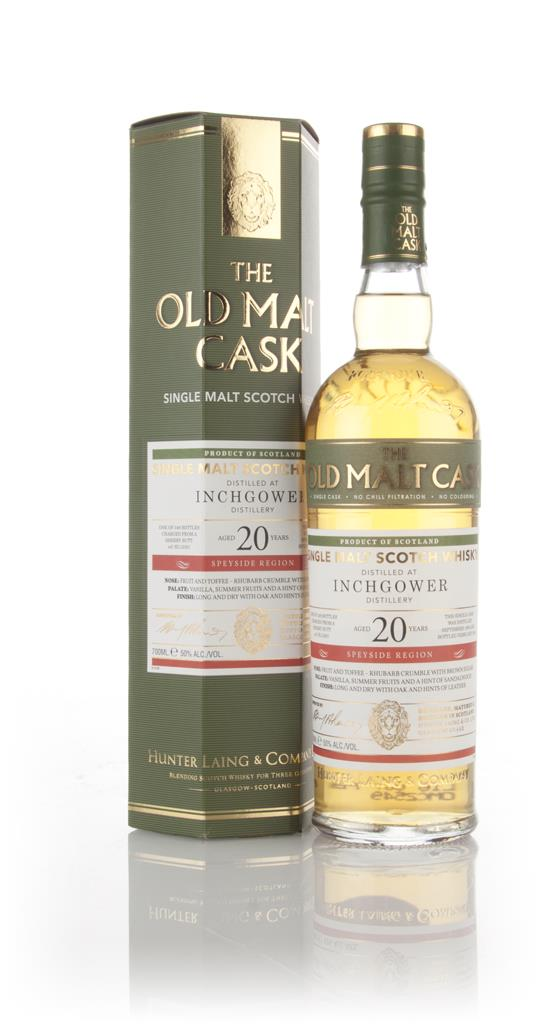 Inchgower 20 Year Old 1995 (cask 12301) - Old Malt Cask (Hunter Laing) Single Malt Whisky