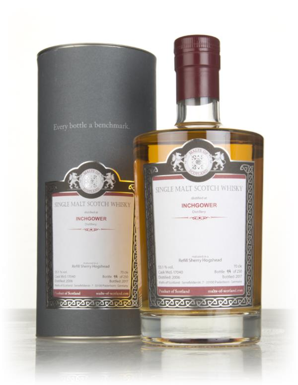 Inchgower 2006 (cask 17040) - Malts of Scotland Single Malt Whisky