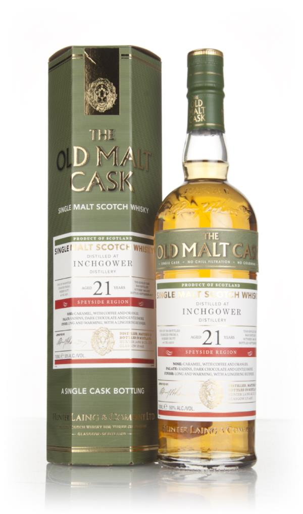 Inchgower 21 Year Old 1995 (cask 14253) - Old Malt Cask (Hunter Laing) Single Malt Whisky