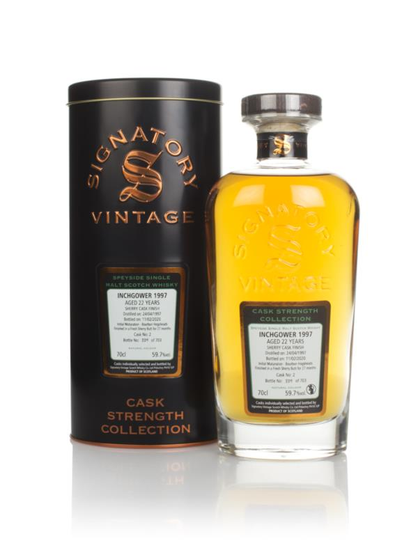 Inchgower 22 Year Old 1997 (cask 2) - Cask Strength Collection (Signat Single Malt Whisky