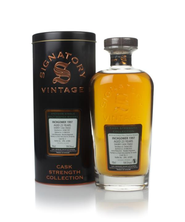 Inchgower 23 Year Old 1997 (cask 3) - Cask Strength Collection (Signat Single Malt Whisky
