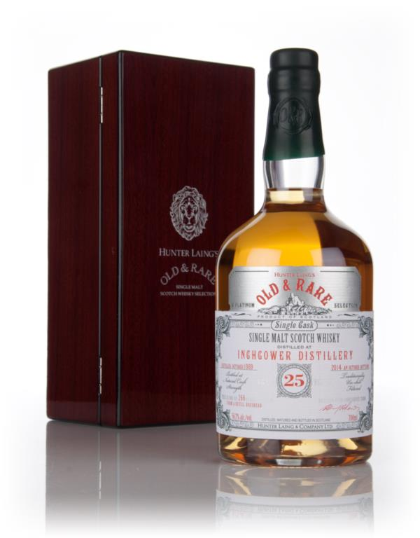 Inchgower 25 Year Old 1989  - Old & Rare Platinum (Hunter Laing) Single Malt Whisky