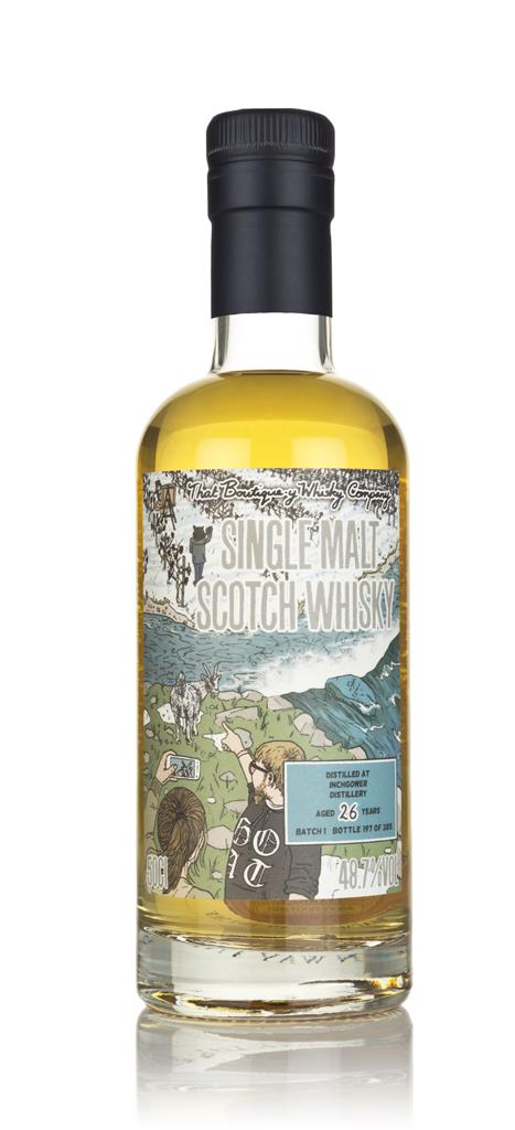 Inchgower 26 Year Old (That Boutique-y Whisky Company) 3cl Sample Single Malt Whisky