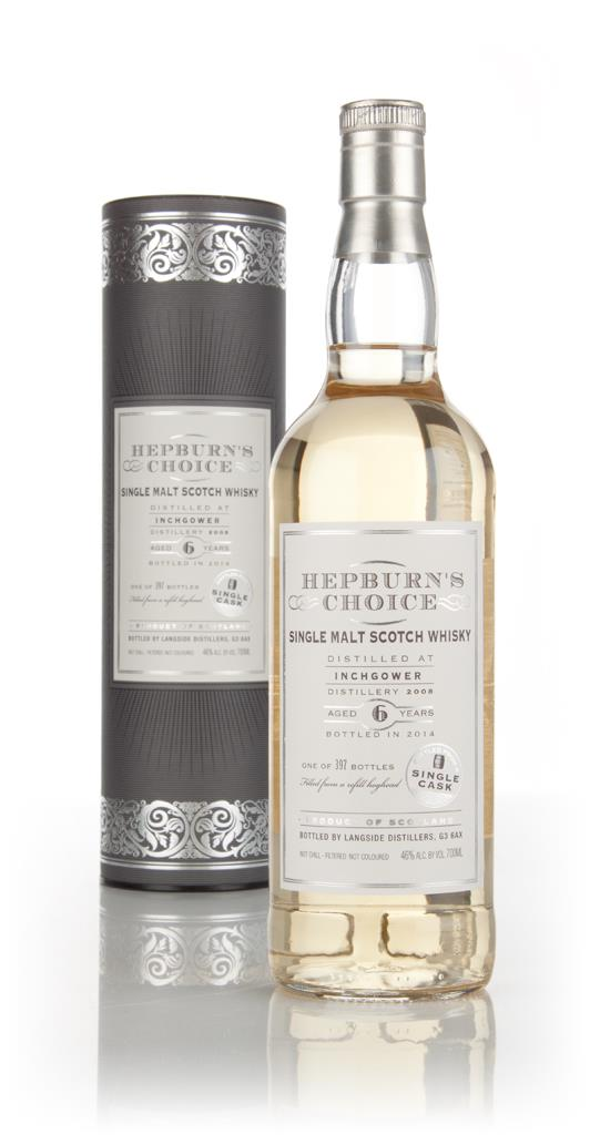 Inchgower 6 Year Old 2008 - Hepburn's Choice (Langside) Single Malt Whisky
