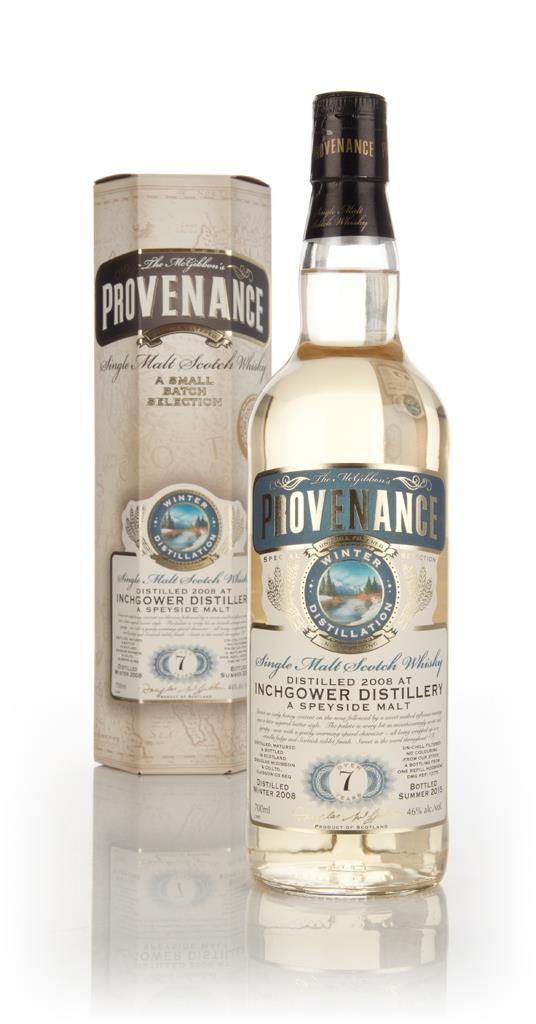Inchgower 7 Year Old 2008 (cask 10775) - Provenance (Douglas Laing) Single Malt Whisky