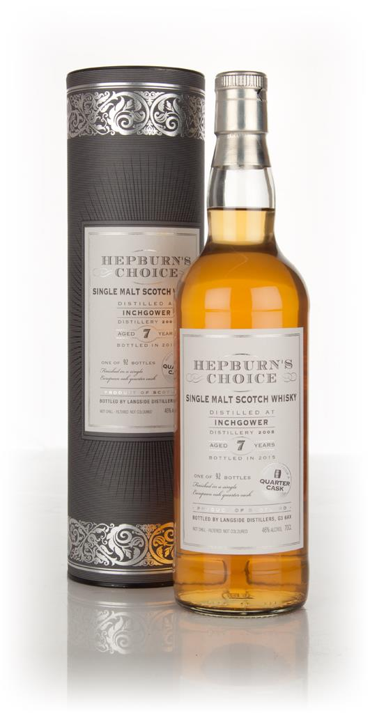 Inchgower 7 Year Old 2008 - Hepburn's Choice (Langside) Single Malt Whisky